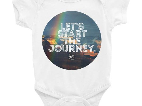 Start the Journey Infant One-piece