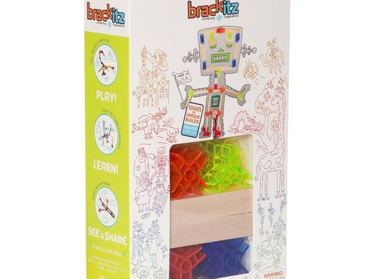 This set from Brackitz is fun for children - and adults - to create anything their imagination can come up with.