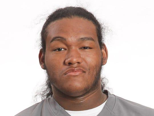 Charles Allen, OG, junior, Doss High School Dragons