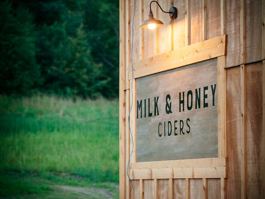 Milk & Honey Ciders opened their taproom in St. Joseph in late August 2017.