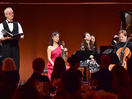 Bill Murray and Friends performed Saturday at the McCallum Theatre.