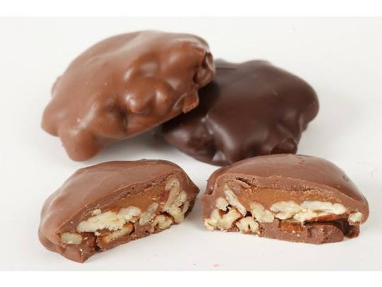 Pecan turtles are a staple at Muth's Candies store