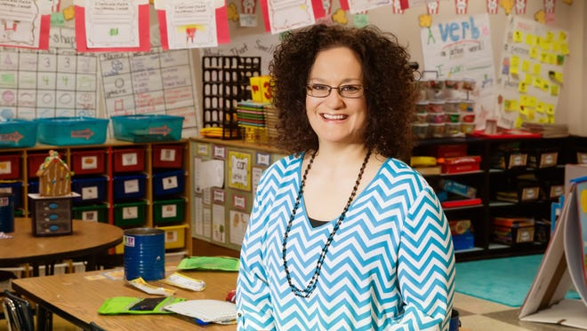 Becky Cade is an LEF Teacher Award finalist in the elementary school category. She teaches at J. Wallace James Elementary.