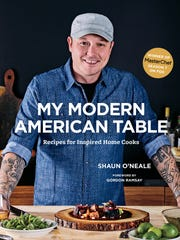Shaun O'Neale will be signing copies of his new book at the Food & Wine Experience.