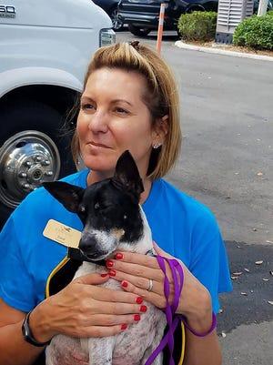 Humane Society of Naples volunteer Carol Tobin.