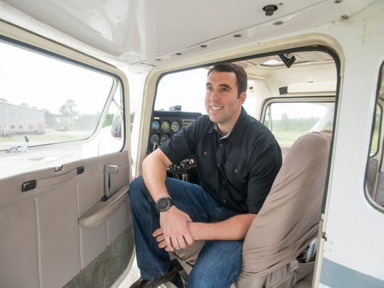 Kilton Kingsman, who has been named Angel Flight Southeast's