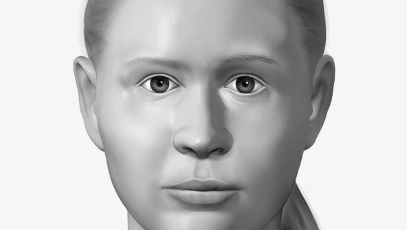 A forensic artist from The National Center for Missing