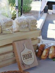 Proof Bread makes bread and pastries and sells both