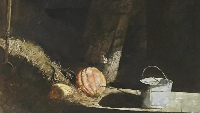 """Pitch Fork"" by Andrew Wyeth"