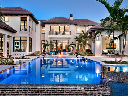 This estate at 3750 Rum Row in the Port Royal neighborhood sold for $17.7 million, the highest home sale price in Naples in 2017, as of mid-December, according to the Naples Area Board of Realtors Southwest Florida Multiple Listing Service.