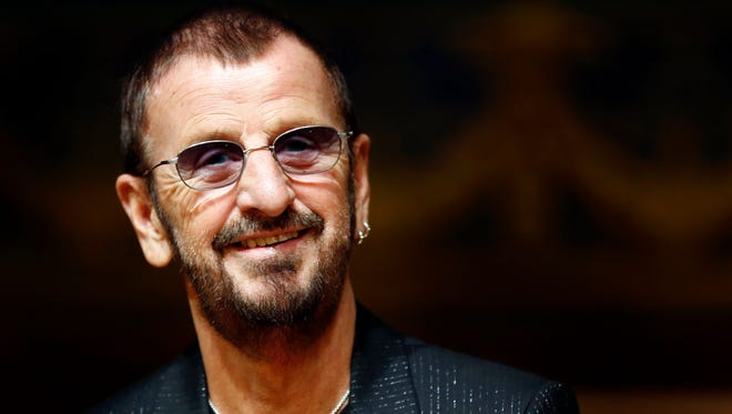 British pop musician Ex-Beatles Ringo Starr attends the opening of his exhibition 'Arternativelight' at the Oceanographic Museum in Monaco, 24 Sept. 24, 2013.