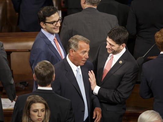 Paul Ryan, John Boehner