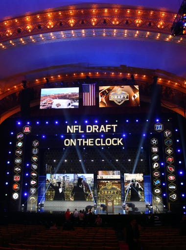 The NFL draft is April 28-30 in Chicago and here's how things may play out in the first round. Bob McManaman's picks are based on observations, team needs, scouting services and various NFL sources.