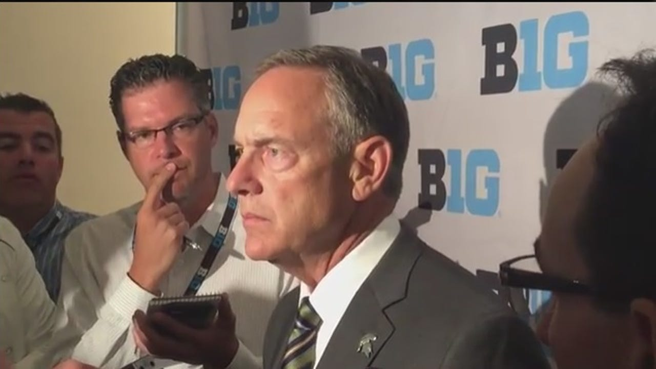 Spartans coach Mark Dantonio talks about getting his freshmen prepared during a one-week minicamp and integrated with the rest of players over the summer.