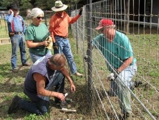 matt-adding-wire-to-fence