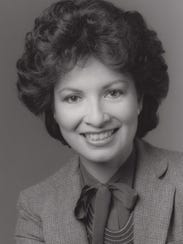 Linda Alvarez of Channel 12 is seen in 1985.