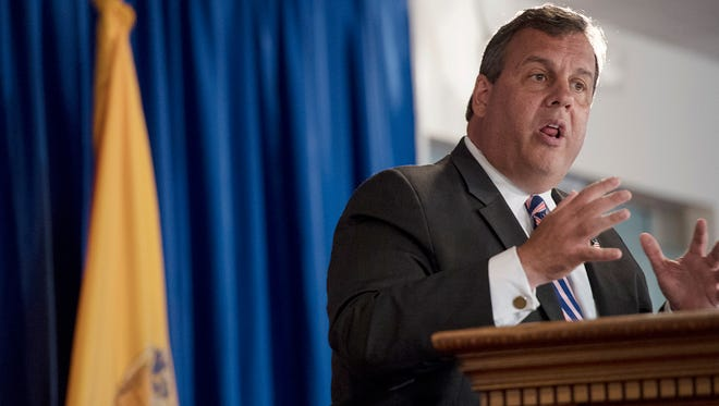Gov. Chris Christie during a press conference on Friday, June 30, 2017. Christie said a deal for the 2018 fiscal year has not been agreed upon and that the New Jersey state government, absent something happening in the next eight hours, is going to shut down.