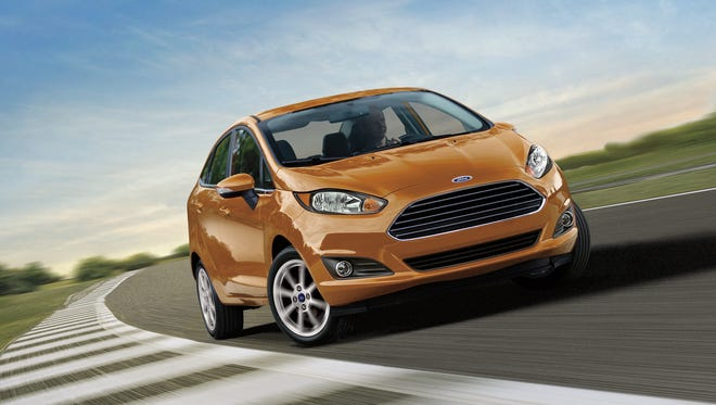 The 2016 Ford Fiesta is built by Ford in Mexico.