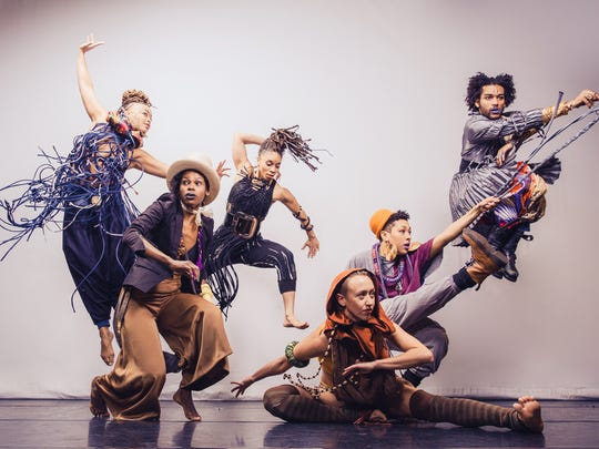 """Urban Bush Women perform their dance/theater piece """"Hair and Other Stories"""" Friday at the Flynn Center."""