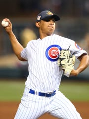 Adbert Alzolay is expected to join the Iowa Cubs later this spring after dealing with an injury.