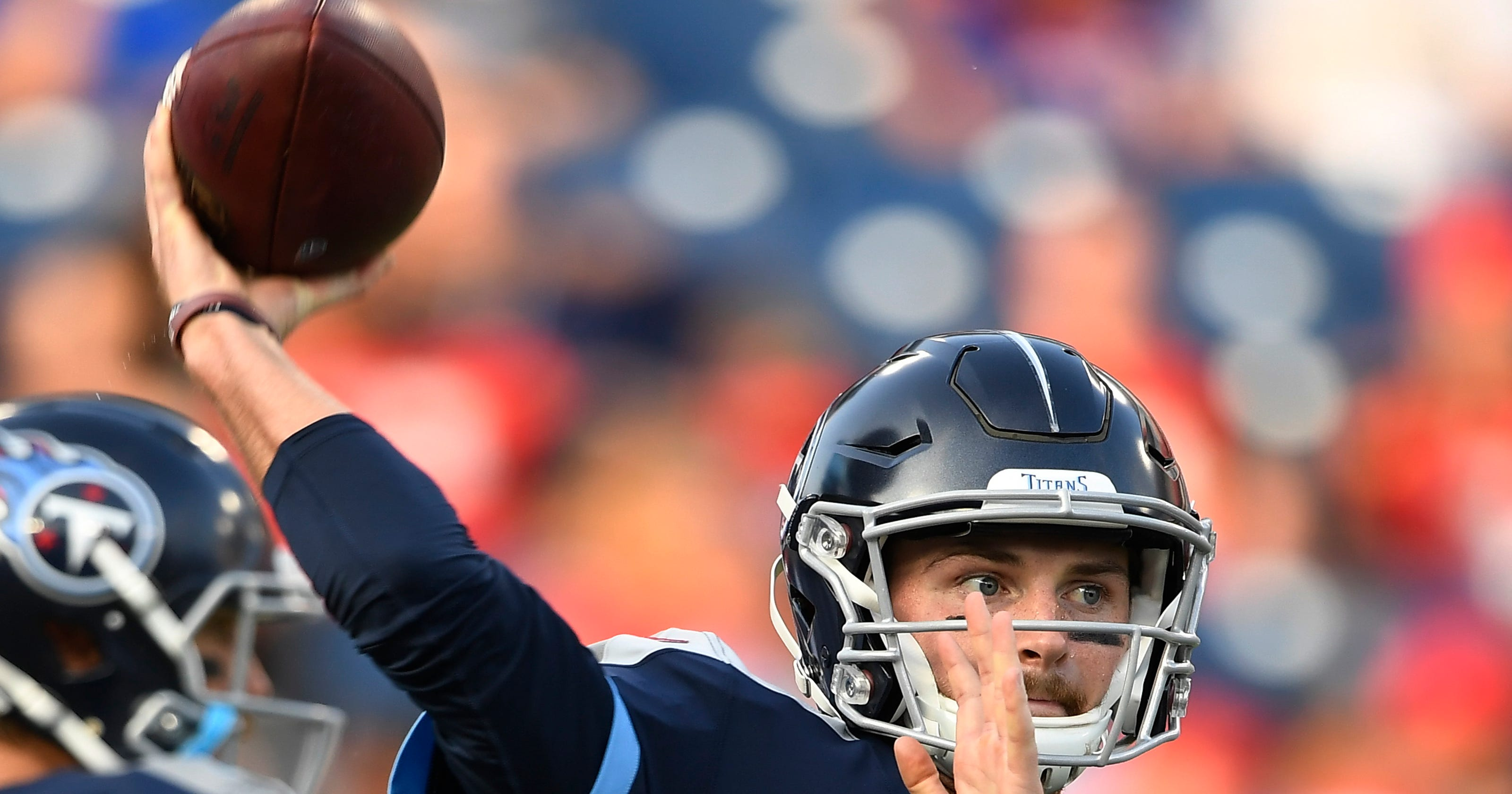 low priced 35d3f 89ada Titans vs Dolphins: Tennessee not concerned Luke Falk will ...