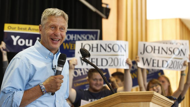 Libertarian presidential candidate Gary Johnson believes he could win the White House.