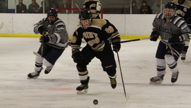 Will Herrington (28) of Point Boro helped the Panthers to a 2-1 win over Howell on Monday.