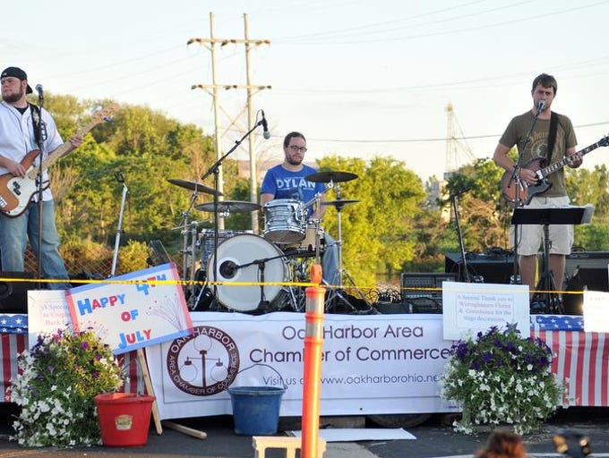 Last Born Sons performs at the Oak Harbor Independence Day festival on Thursday July 3, 2014.