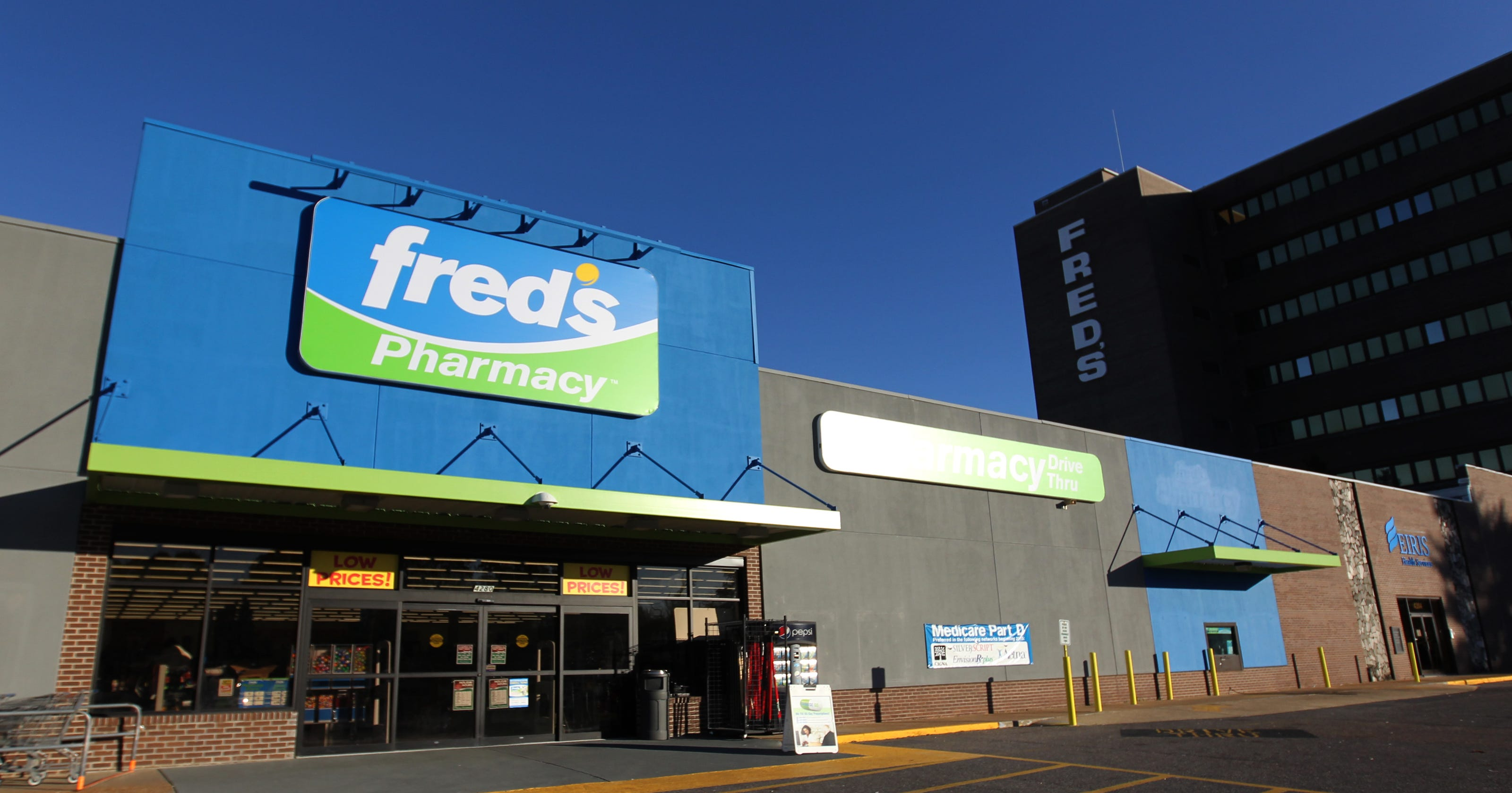 Memphis-based Fred's to lay off 80, sell 185 pharmacies