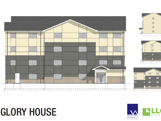 The first phase of the Glory House's long-term expansion plans includes a 25-unit apartment for recently-released prisoners working to re-enter society. Lloyd Companies is partnering with the Glory House on the project.
