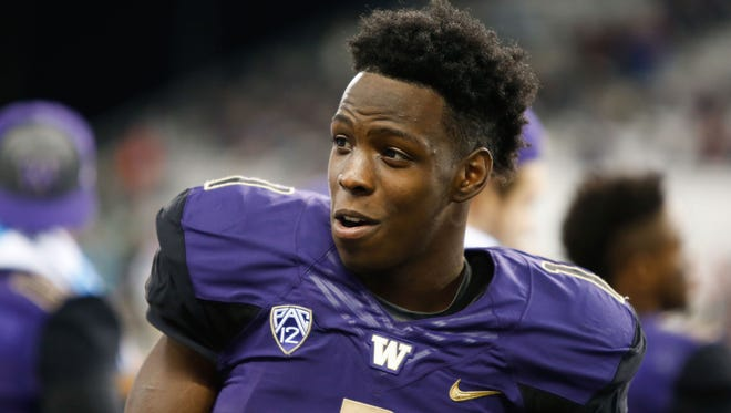 Washington's John Ross made 17 touchdown receptions in leading the Huskies to the CFP semifinals.