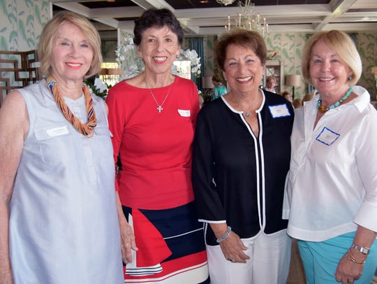 Evelyn Mayerson, Martha Willoughby, Claire Hirsch and