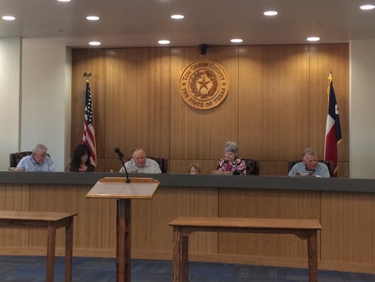 Tom Green County Commissioners Court