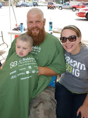 Join the St. Baldrick's Foundation in raising money for children's cancer research.