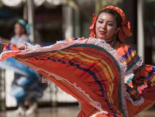 Folklorico dancers will perform at the Tempe Tardeada