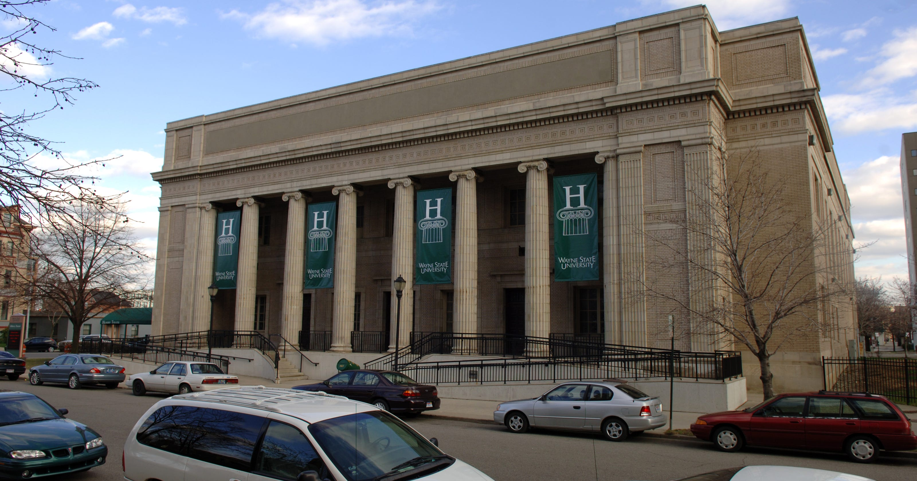 wayne state hilberry theater