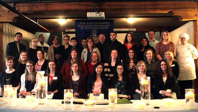 Fifty-eight students from Lakeshore Technical College recently joined the Beta Lamda Sigma Chapter of Phi Theta Kappa International Honor Society.