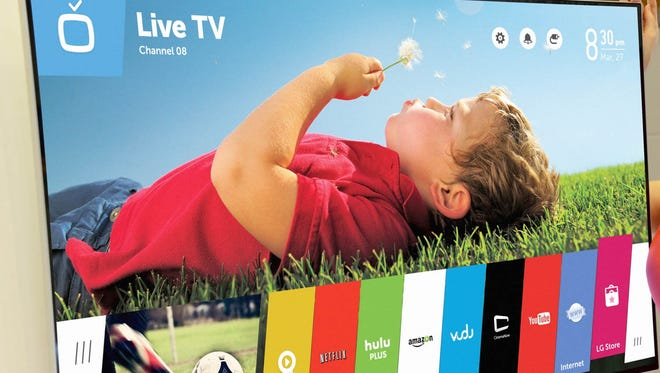 The beautifully designed webOS is LG's new smart TV platform