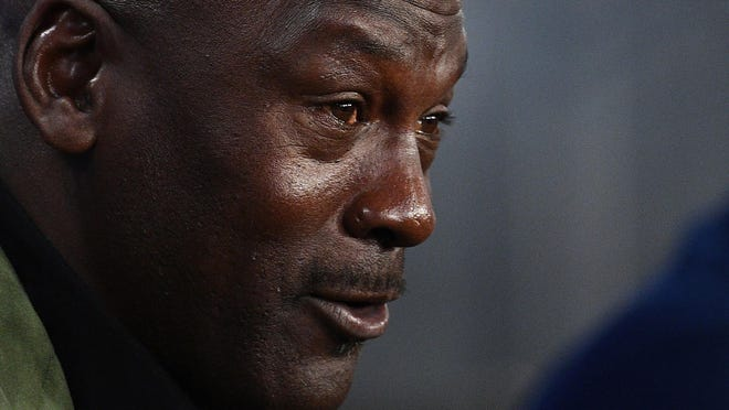 "Former NBA star and Charlotte Hornets owner Michael Jordan  says he is ""deeply saddened, truly pained and plain angry,"" following the death of George Floyd in Minneapolis and the civil unrest that has followed."