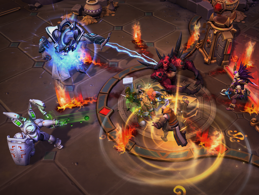 Heroes of the Storm's Lost Cavern map