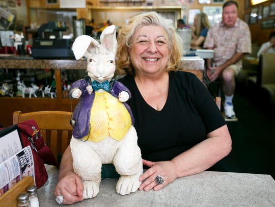 A reception is being held for Wendy Steinberg, shown