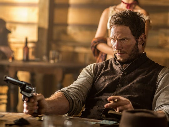 "Chris Pratt appears in a scene from ""The Magnificent"
