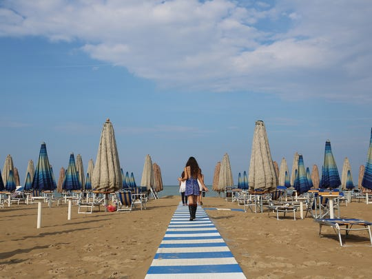 During the summer months, Abruzzo's most populous city,