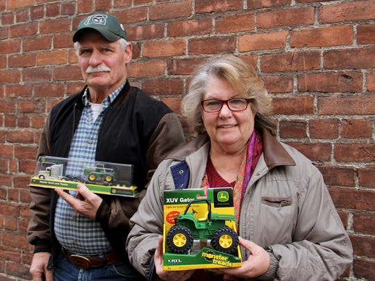 John and Vickey Winn invite people to the Oregon Vintage Machinery Museum for an open house and toy drive this Saturday.