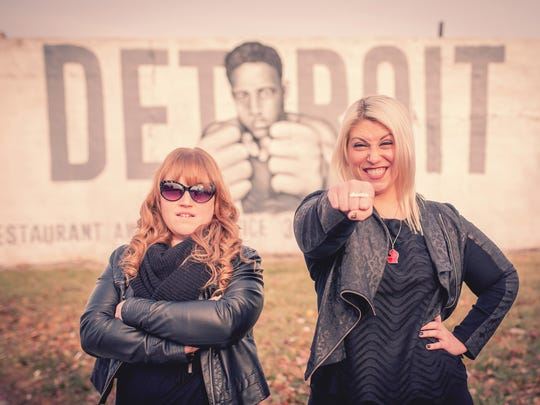 Hip in Detroit: Christie Laabs and Sadie Quagliotto