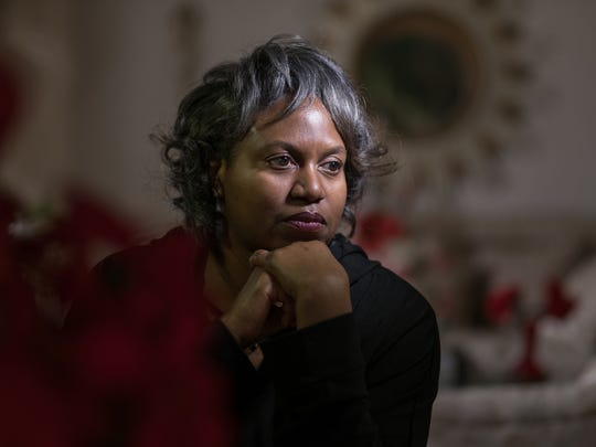 Kimberly Gray of Detroit is a former corrections officer who lost her job at Women's Huron Valley but said she never had any work-related problems until she turned down sexual advances from a supervisor.