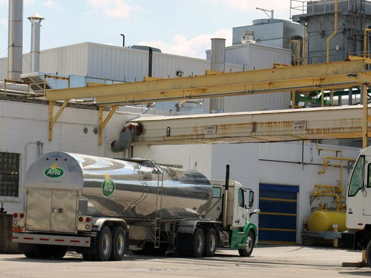 The Arla plant located just east of Kaukauna will no