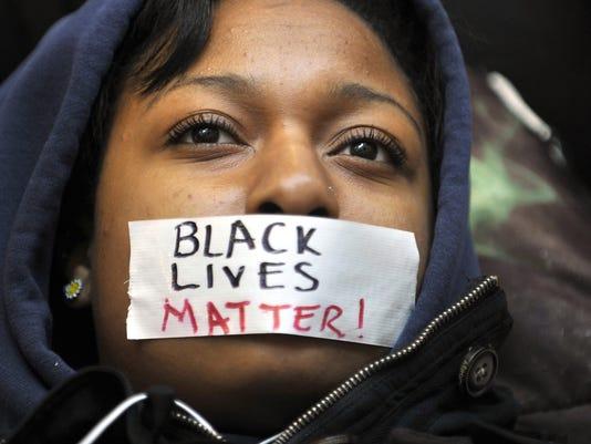 Ferguson protest at Penn State