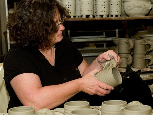 Wortman Pottery/Emily Wortman will be featured at the