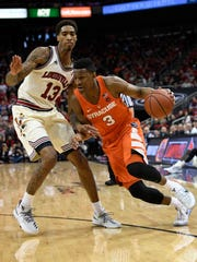 Andrew White has picked a bad time to go into a shooting slump as the Orange make a push for the NCAA tournament.